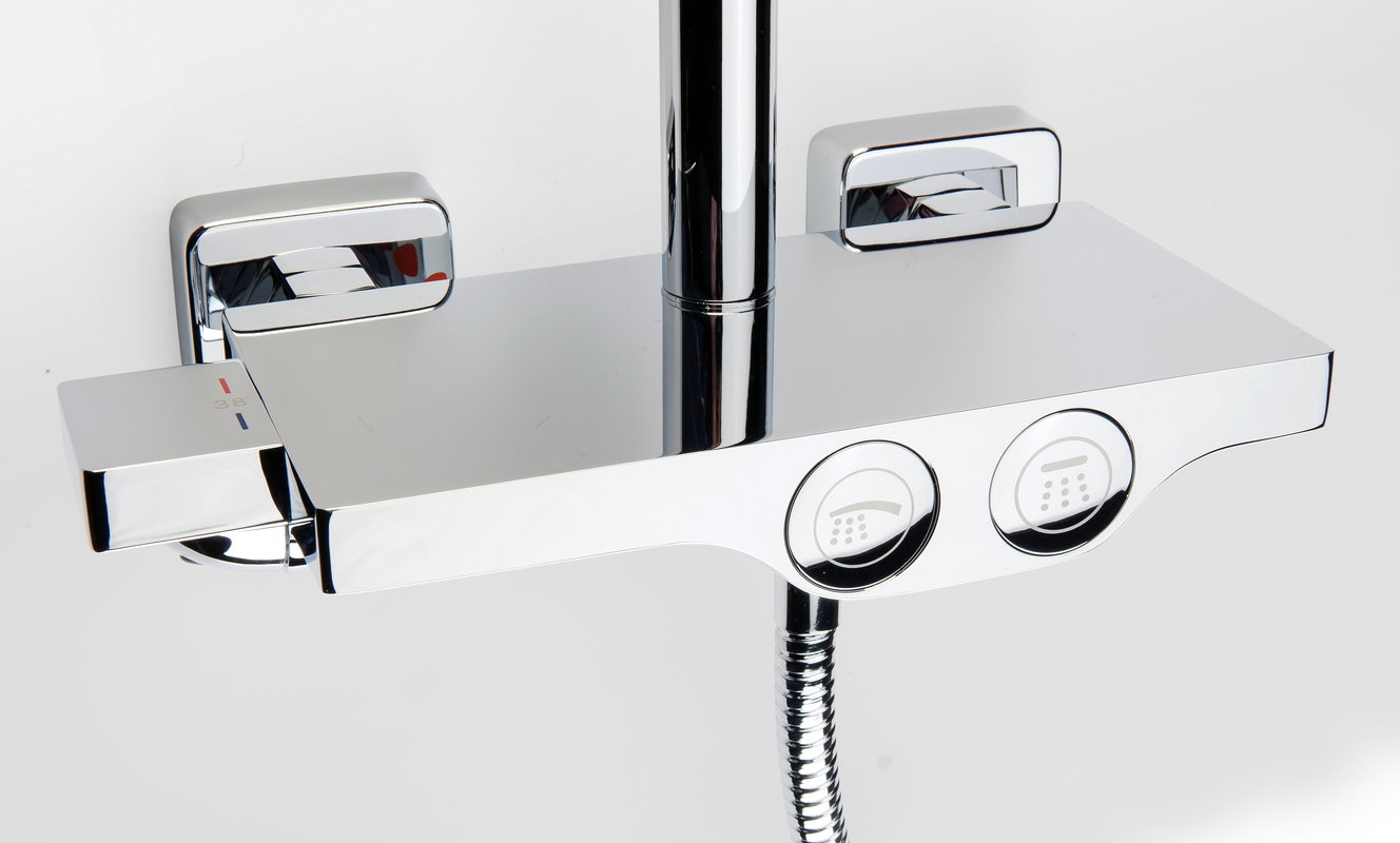 Barra ducha aquassent oria termost tica for Barra para ducha