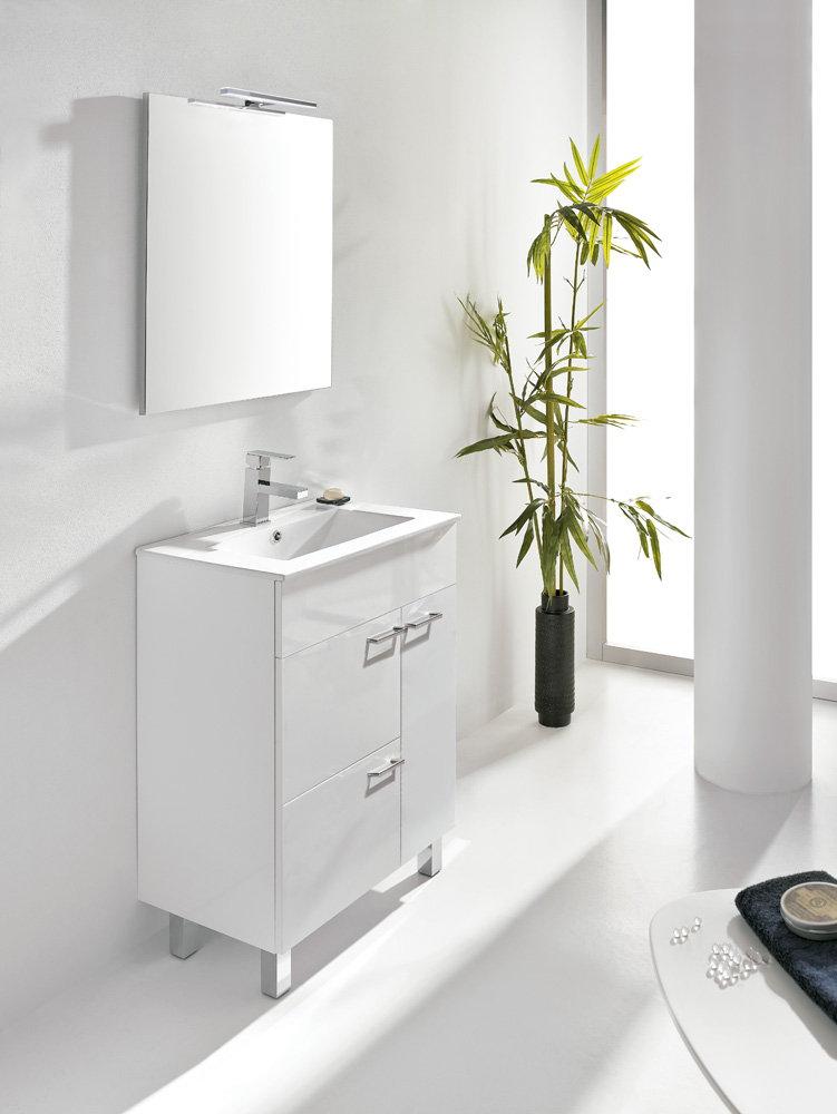 Mueble de ba o royo modelo confort con patas fondo 39cm - Muebles de bano de 60 cm ...