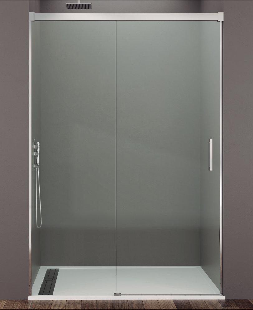 Mamparas ducha gme basic 1 fijo y 1 corredera - Mampara para ducha ...