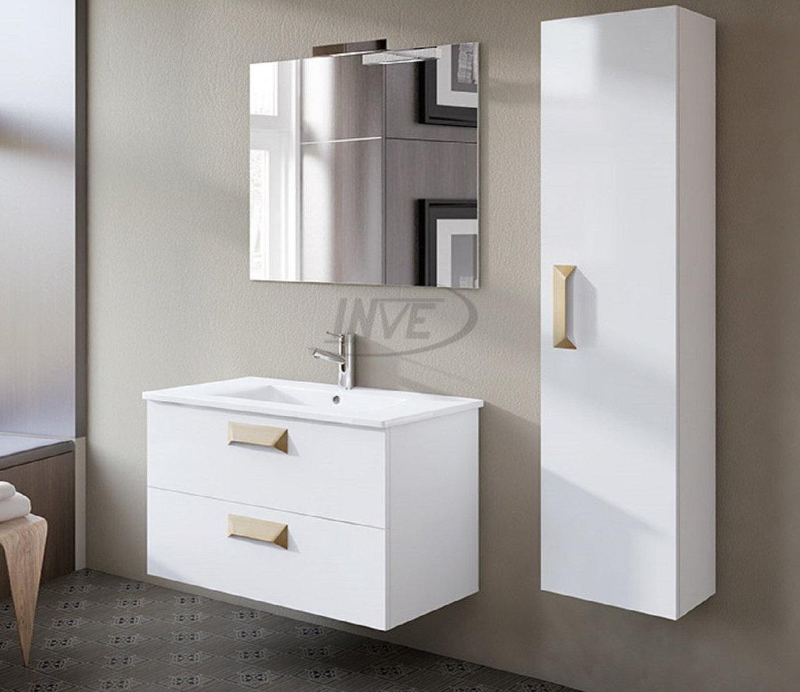 inve mueble de ba o modelo alberta suspendido blanco de 80cm