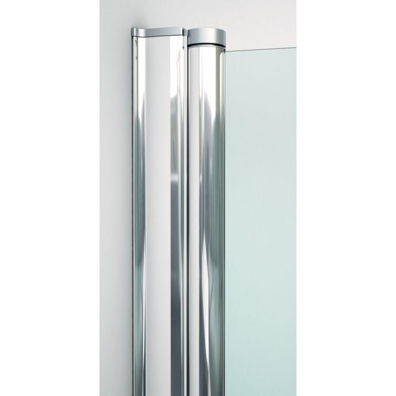Mampara de ducha v b h3 de 2 hojas plegables for Hojas plegables