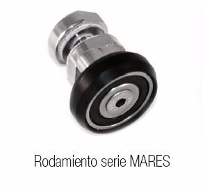 8mm. Mamparas Ducha Glassinox Tirreno INOX de 2 Fijos y 2 Correderas