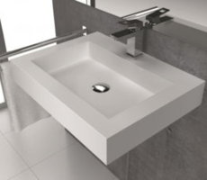 Lavabo Mural SANYCCES BRISTOL Solid Surface