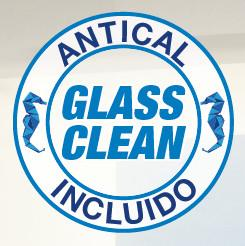 8mm. Mamparas Ducha Glassinox Timor INOX CON ANTICAL