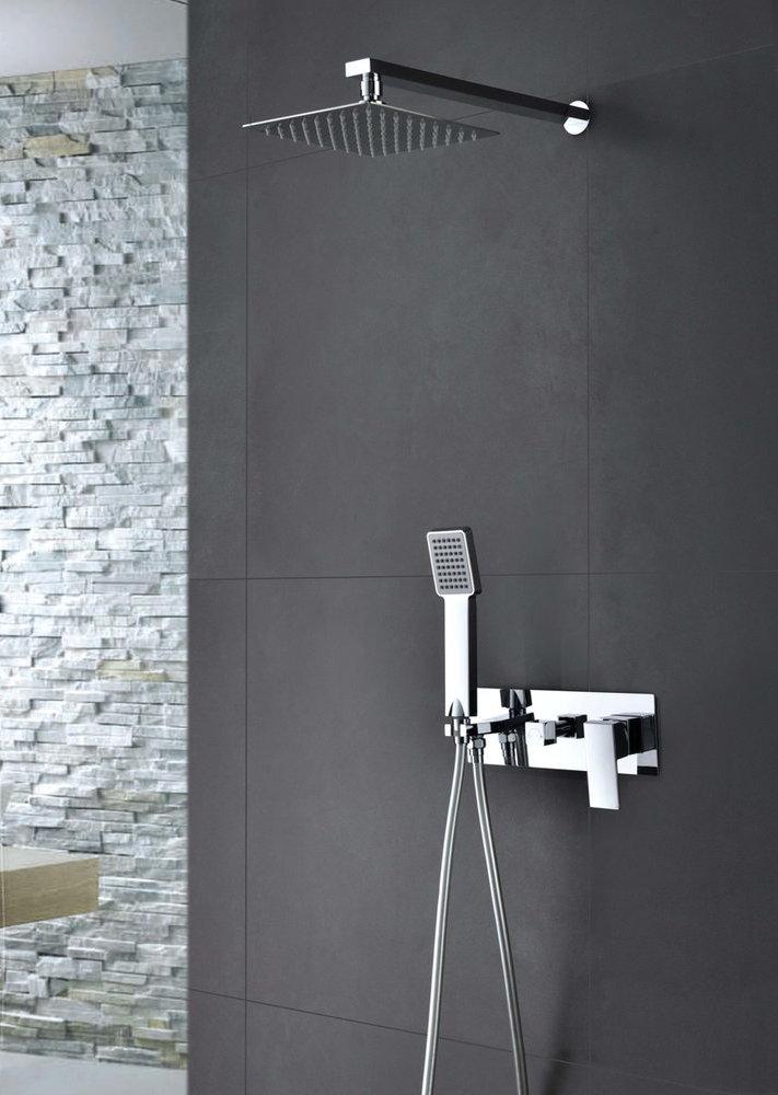 Grifer a empotrada de ducha imex noruega monomando for Griferia monomando ducha