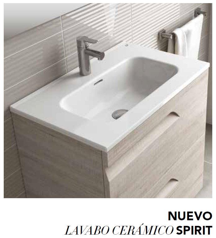 Mueble de ba o royo modelo vitale suspendido de 80cm for Muebles de lavabo de 60 cm