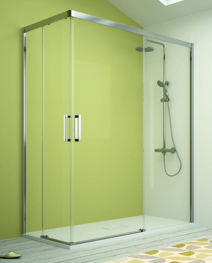 Mamparas ducha kassandra 400 abierta al v rtice - Mampara de ducha segunda mano ...