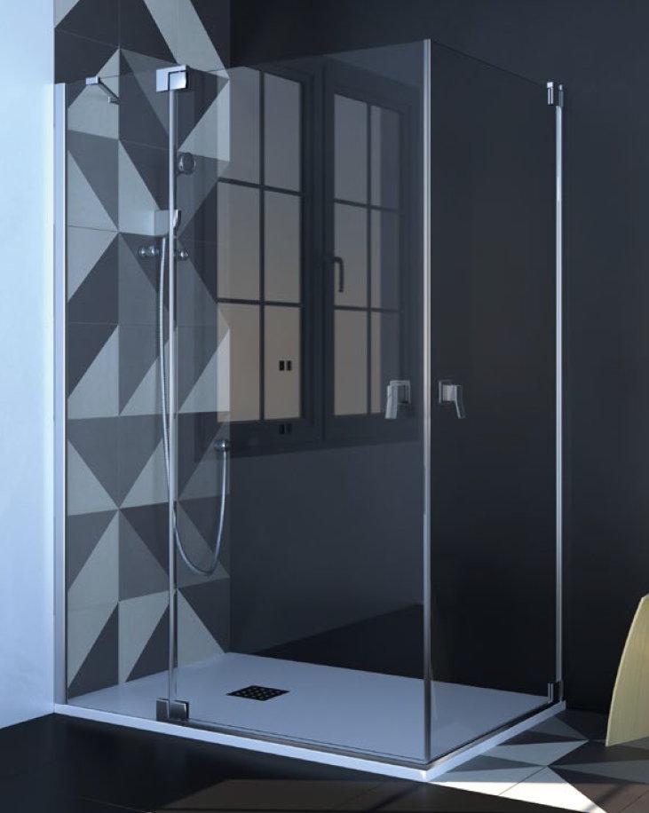 Mamparas de ducha puertas abatibles best puerta ducha - Mamparas abatibles para ducha ...