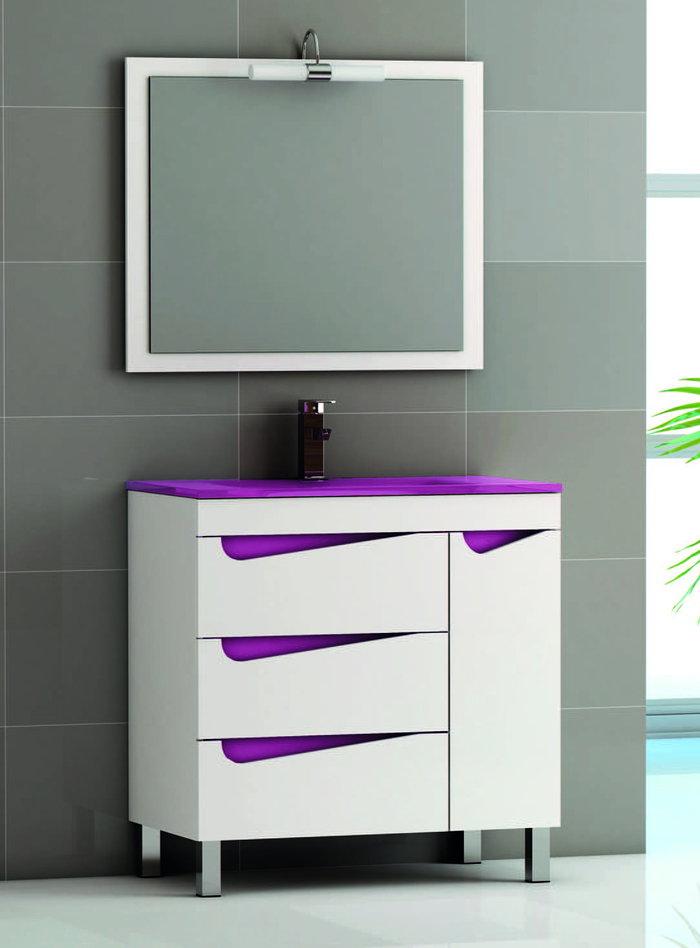 Batoni mueble de ba o modelo sena con patas de 80 cm - Batoni muebles de bano ...
