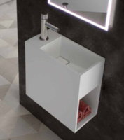 Lavabo Mural ART&BATH JAZZ IRION Solid Surface