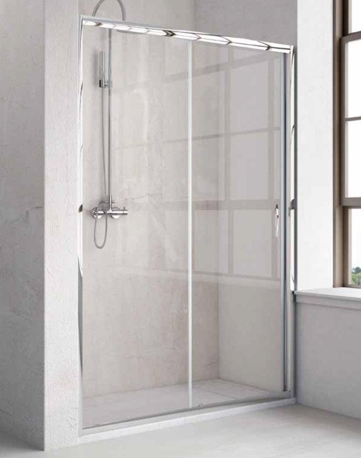 Oferta conjunto mampara plato de ducha sp h1 1 fijo y 1 - Oferta mamparas ducha ...