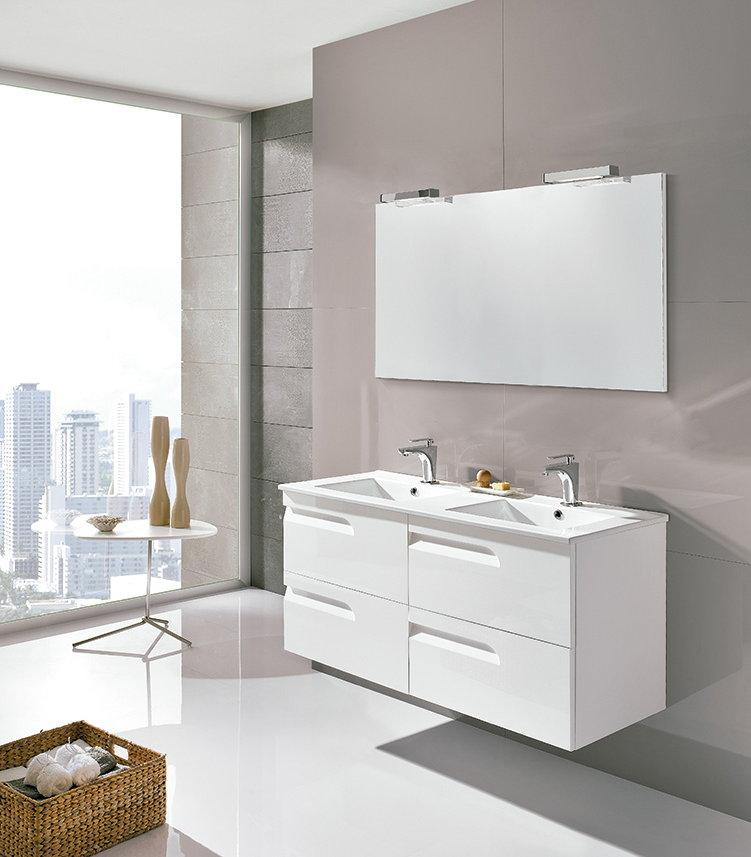 Mueble de ba o royo modelo vitale suspendido de 120cm for Muebles de cocina 45 cm