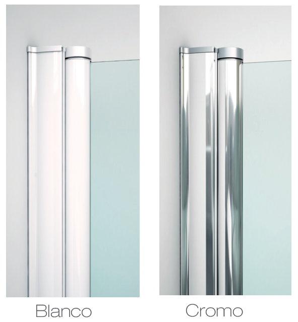 Mamparas de ducha plegables precios simple mampara de - Mampara plegable ducha ...