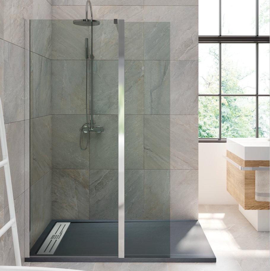 Cristal fijo sp cmb con hoja abatible - Cristal fijo para ducha ...