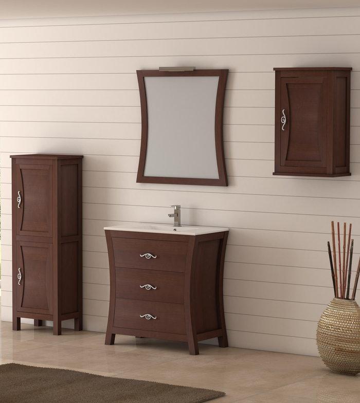 Batoni mueble de ba o de madera modelo bohemia - Muebles de bano de madera ...