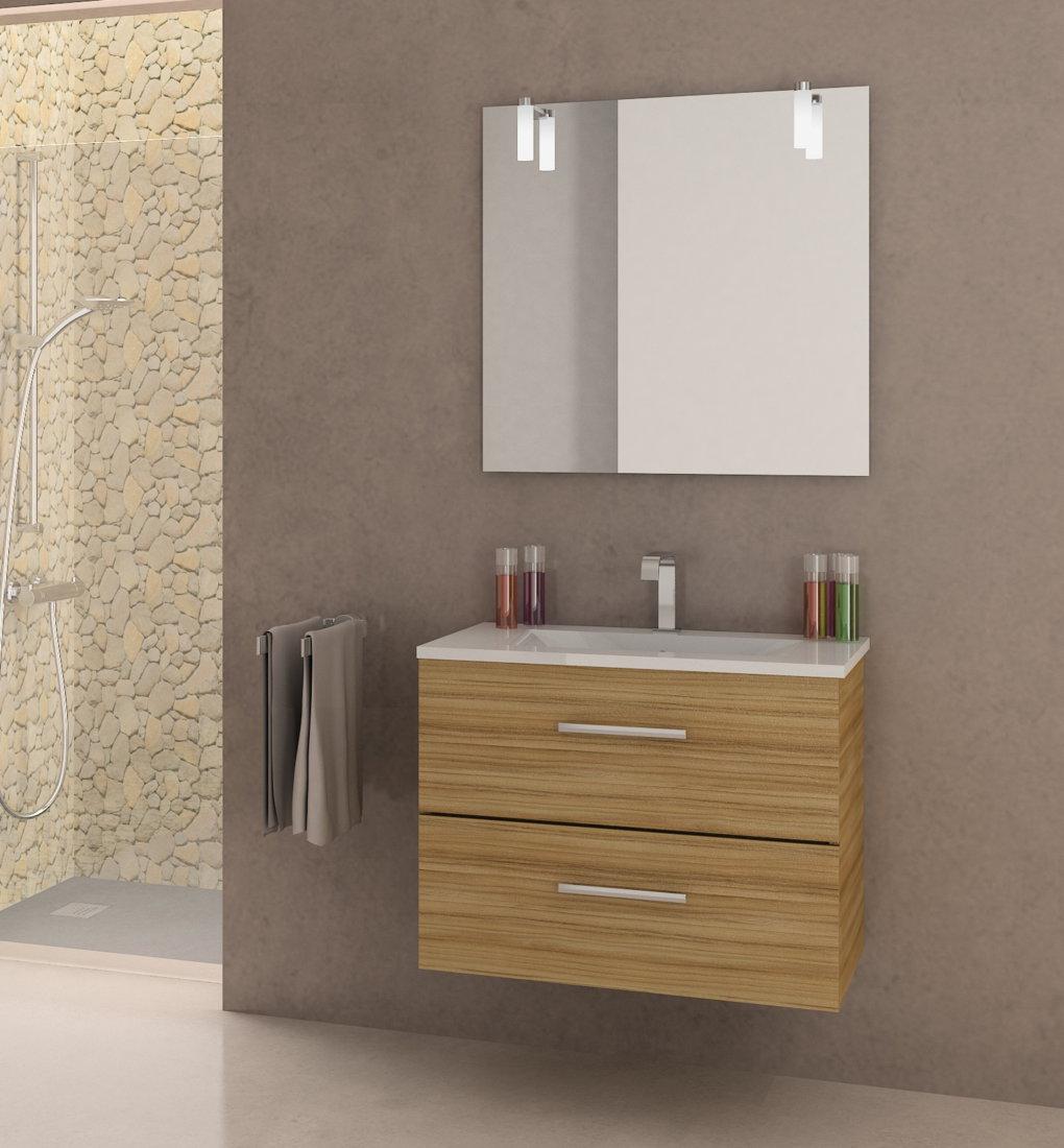 Viberco mueble de ba o suspendido modelo lydia 60 cm for Muebles de bano 70 x 40
