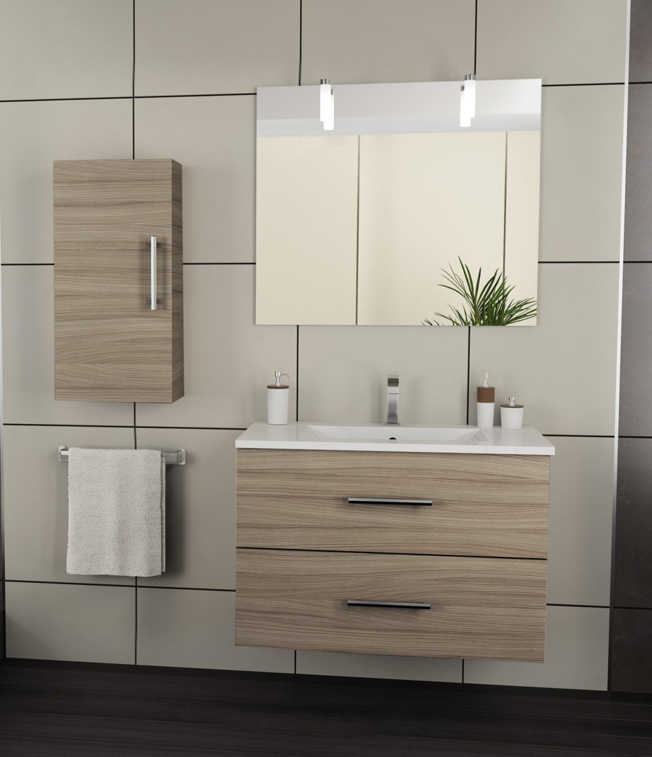 Viberco mueble de ba o suspendido modelo lydia 60 cm - Fabricante muebles de bano ...