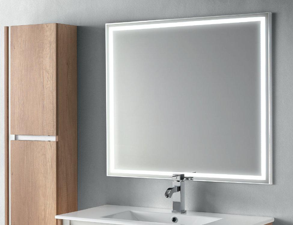 Espejo Bano.Espejo De Bano Led Socimobel Quadro