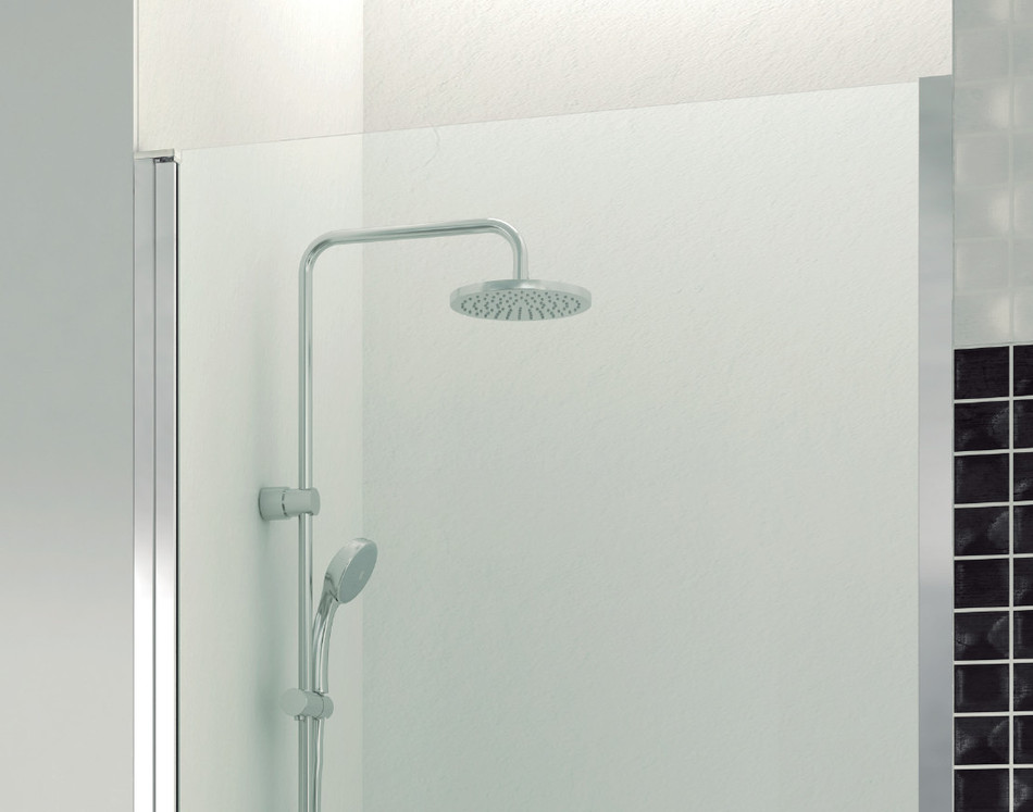 Mamparas ducha gme open puerta abatible for Perfil mampara ducha