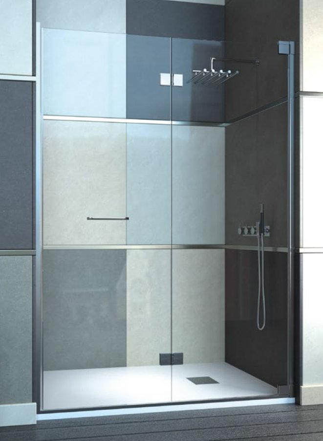 Mamparas ducha doccia frankfurt de 2 hojas plegables - Mamparas de ducha plegables ...