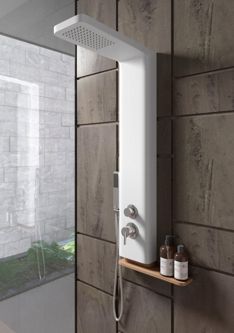 Columna de ducha sagobar h2o ko termost tica - Columnas de ducha termostaticas ...