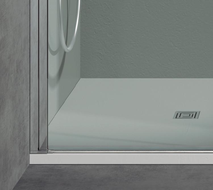 Mamparas ducha h aqua 604 de 2 hojas abatibles - Mamparas de ducha online ...