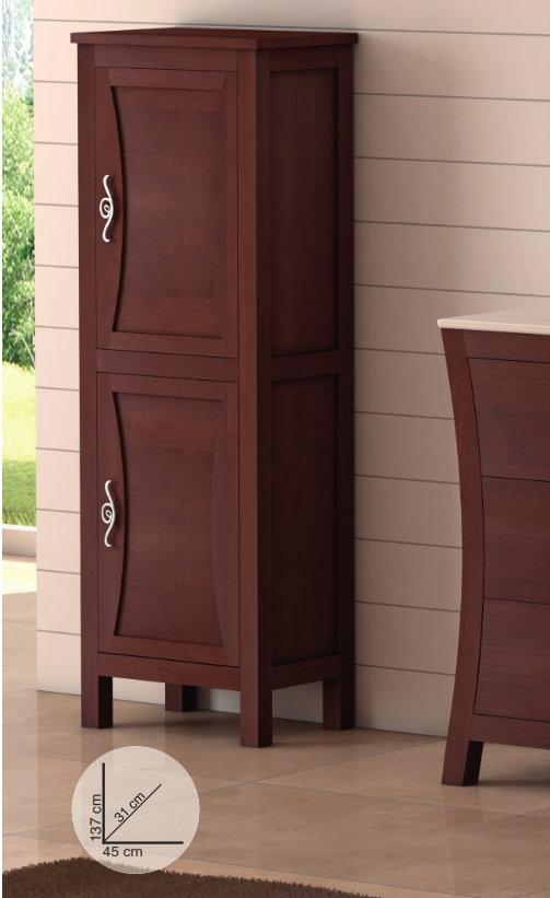 Mueble de ba o de madera batoni modelo bohemia Mueble auxiliar bano madera