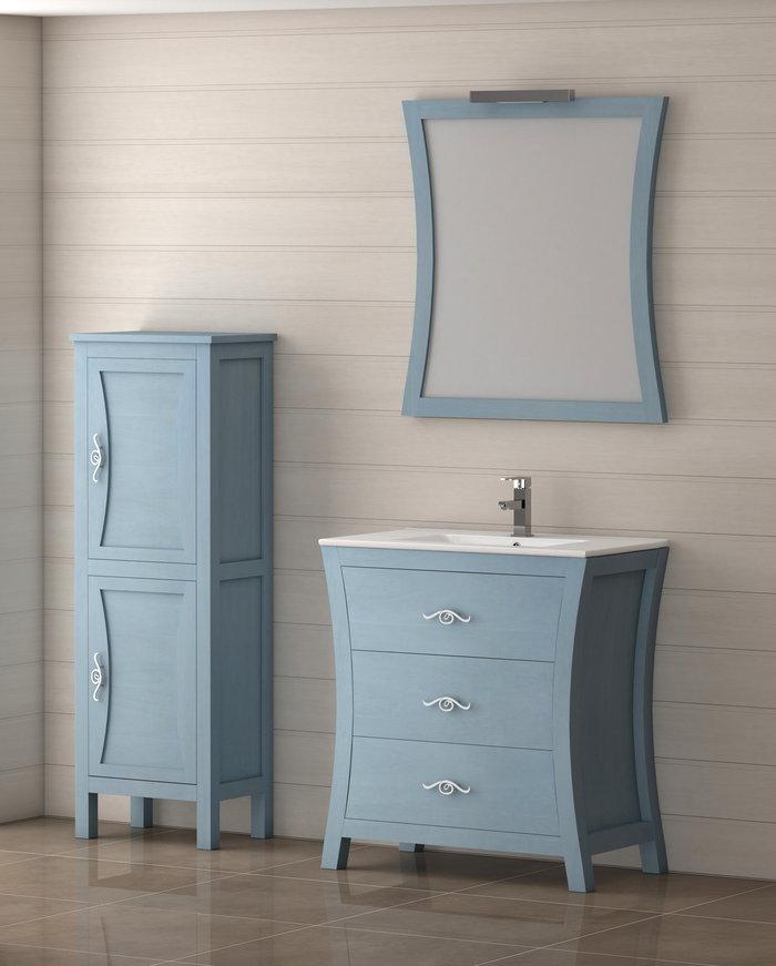 Batoni mueble de ba o de madera modelo bohemia for Mueble de bano de diseno de madera