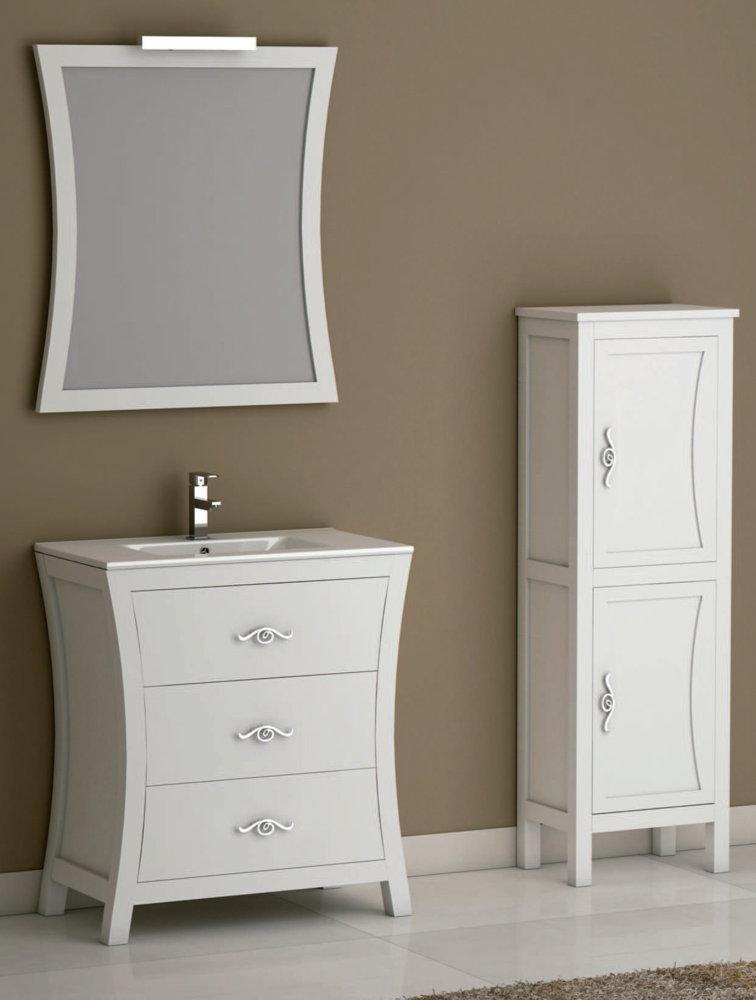 Batoni mueble de ba o de madera modelo bohemia for Modelos de muebles de madera