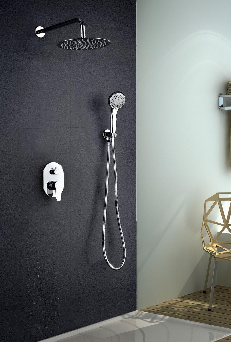 Grifer a empotrada de ducha imex oslo monomando for Monomando para ducha