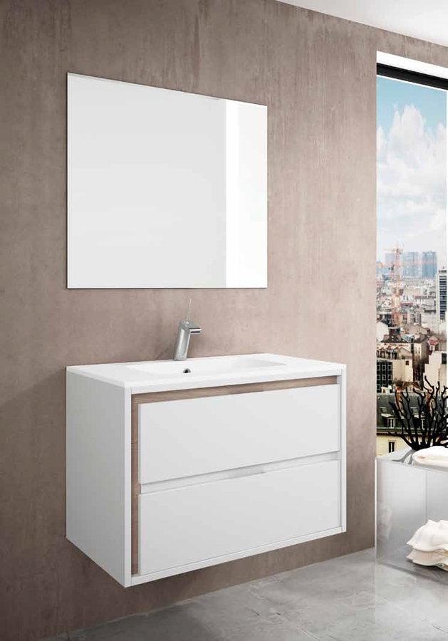 Muebles ba o natugama modelo lago suspendido de 100 cm for Muebles de bano 140 cm