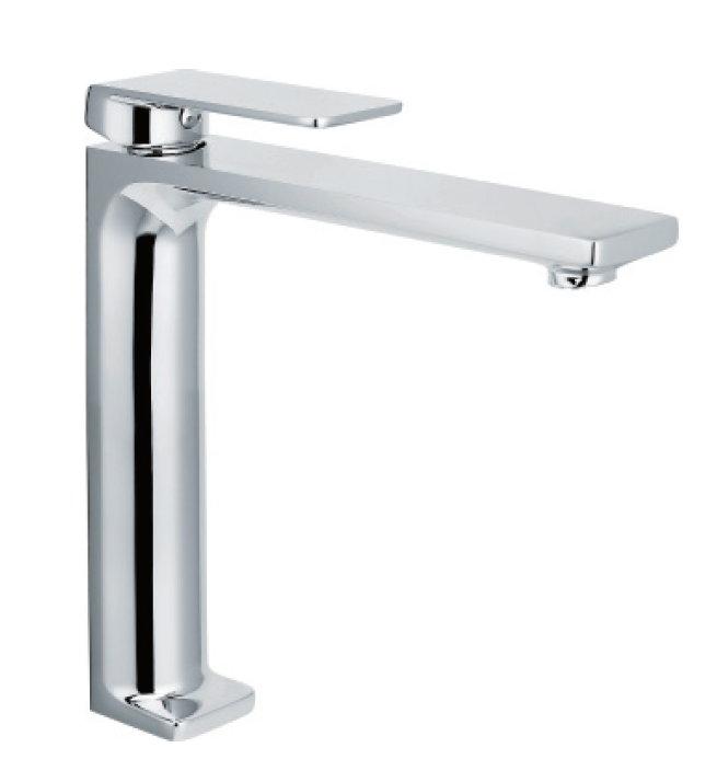 Imex grifo de lavabo fiyi alto monomando for Grifo alto lavabo