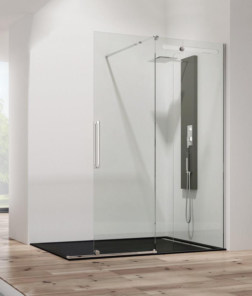 Mamparas ducha gme vetrum free 1 fijo 1 corredera - Mampara de ducha segunda mano ...