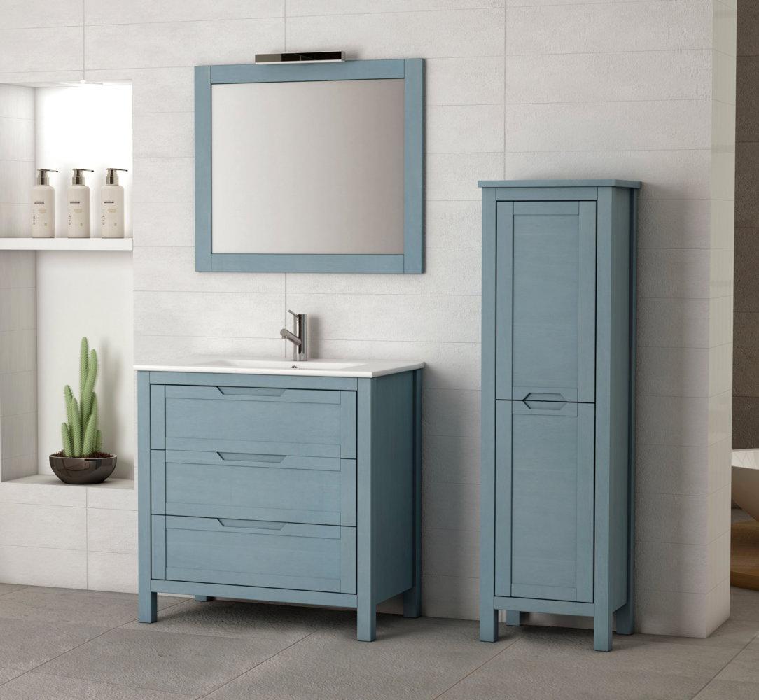 Batoni mueble de ba o modelo nerpio con patas de 80 cm - Muebles de bano adaptables a lavabo con pie ...