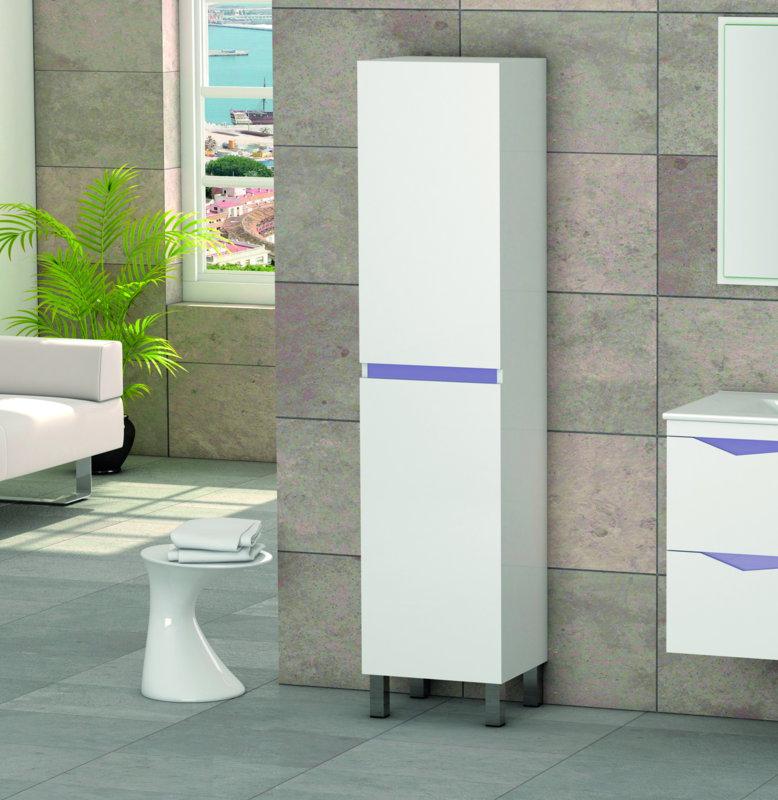 Mueble de ba o auxiliar columna batoni 2 puertas - Batoni muebles de bano ...