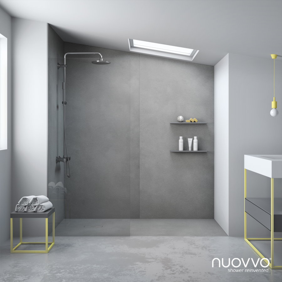 Plato ducha nuovvo modelo cement for Plato de ducha flexible