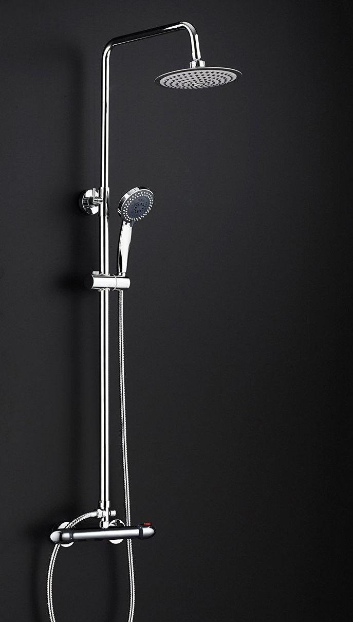Barra de ducha ug modelo ug31013 extensible termost tica for Barra para ducha