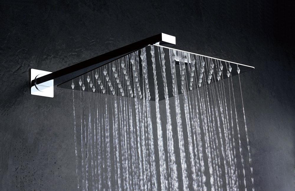 Grifer a empotrada de ducha imex noruega monomando for Griferia empotrada