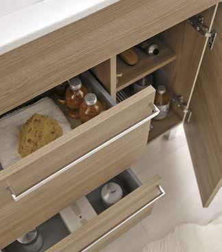 Mueble de ba o royo modelo confort 80 cm con patas fondo - Confort del bano ...