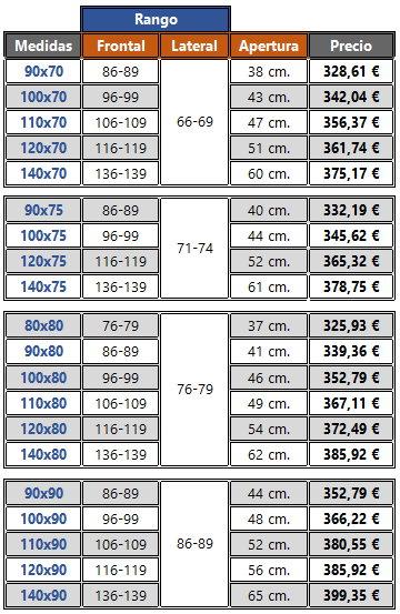 Platos De Ducha De 65 Cm De Ancho.6mm Mampara De Ducha Kassandra 300 Tr105 Abierta Al Vertice