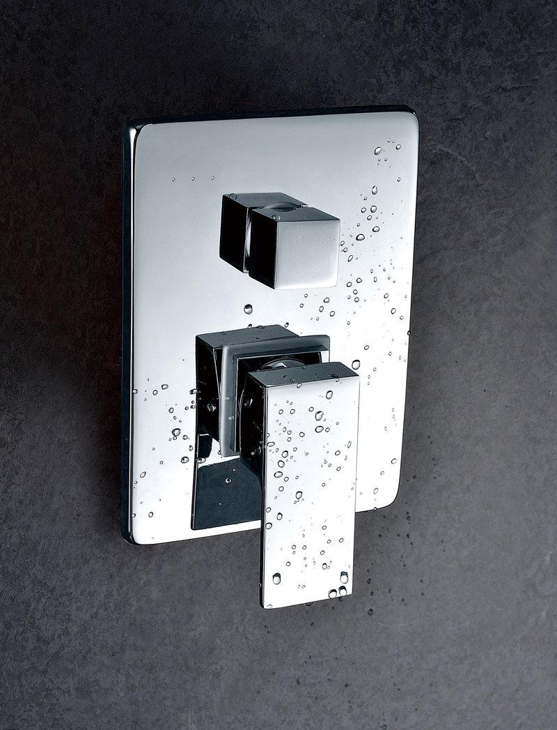 Grifer a empotrada de ducha imex formentera monomando for Griferia monomando ducha
