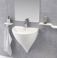 Lavabo Mural SANYCCES KALIYA Solid Surface