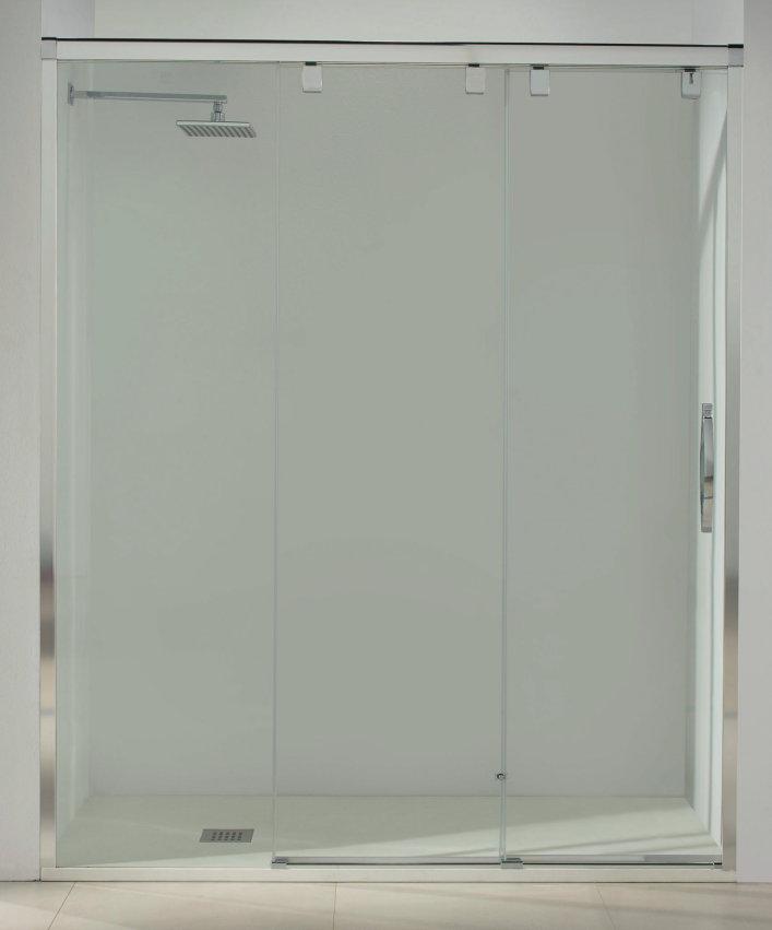 Mamparas ducha duritia vogus 20 de 1 fijo y 2 correderas - Mamparas ducha correderas ...