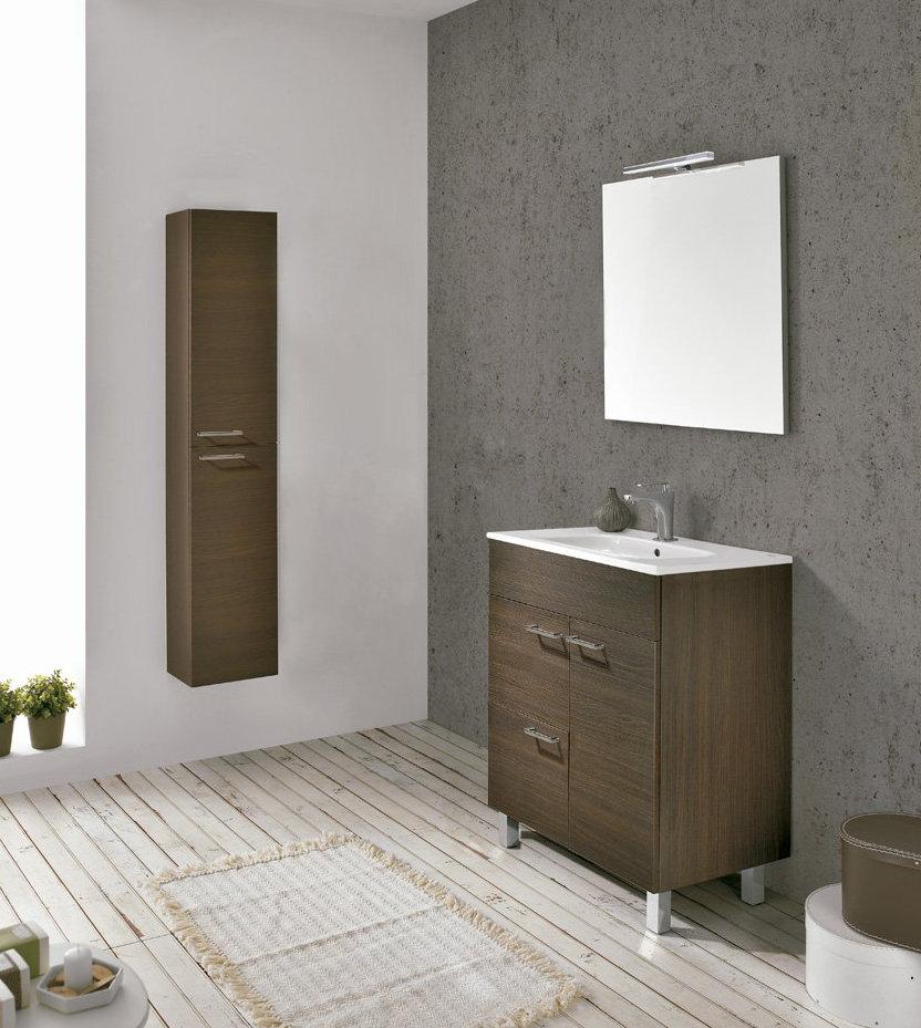 Mueble de ba o royo modelo confort con patas fondo 45cm - Muebles de bano de 60 cm ...