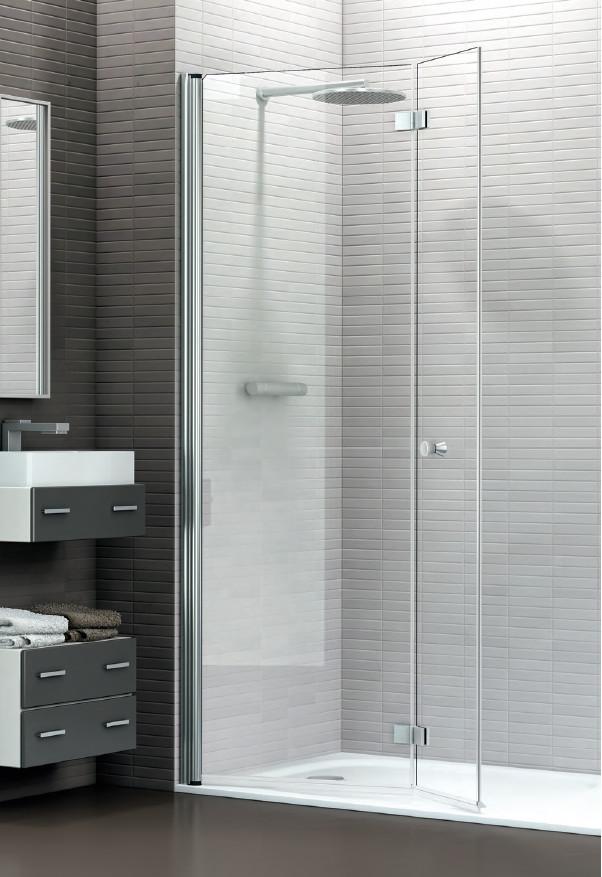 Mamparas ducha ibercris panamera 90 de 2 hojas plegables - Modelos de mamparas de ducha ...