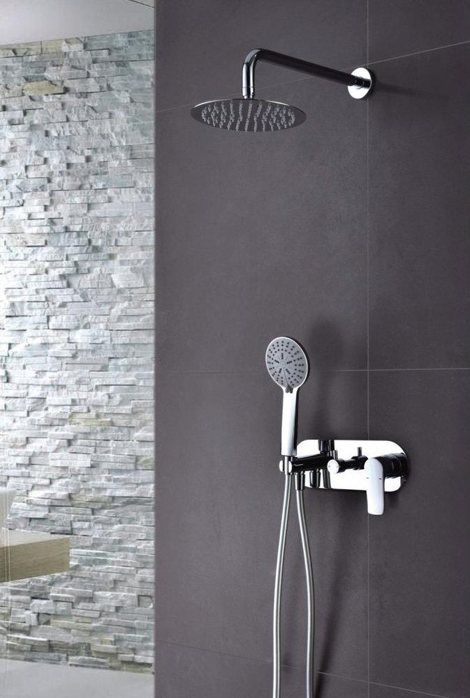 Grifer a empotrada de ducha imex italia monomando for Llave de ducha pared