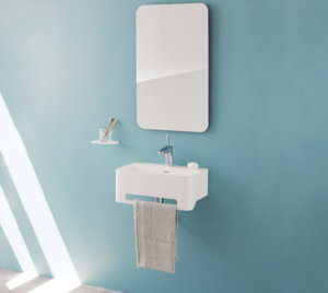 Lavabo Mural SANYCCES CORK Solid Surface